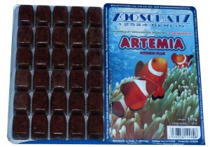 Artemia Vitamin Plus Frostfutter 100g Blister