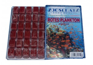 Rotes Plankton Frostfutter 100g Blister