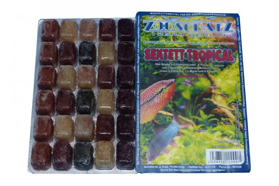 Sextett Tropical Frostfutter 100g Blister